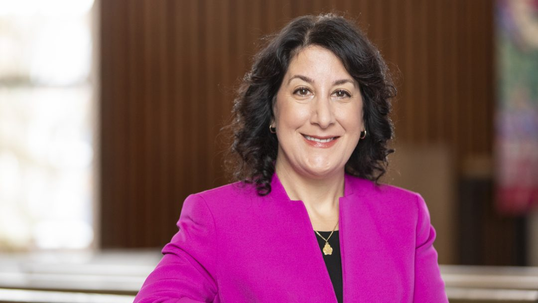 Dr. Suzanne Rivera, President of Macalester College
