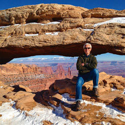 Brian at Arches National Park, Utah