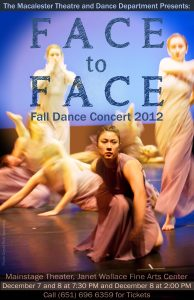 Macalester College Theatre and Dance Department Presents Face to Face, Dec. 7-8