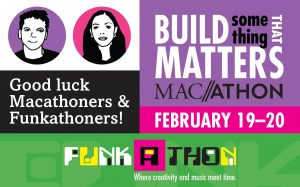 Macalester holds fourth Macathon and  first Funkathon ~ Feb. 19 - 20