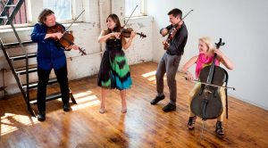 "New Music at Macalester presents the  ETHEL string quartet performing ""GRACE"""