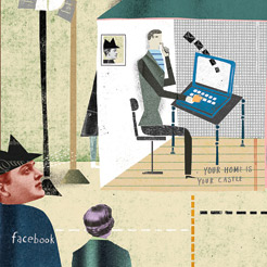 facebook home is your castle
