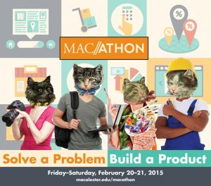 Macalester holds third Macathon ~ Feb. 20 - 21