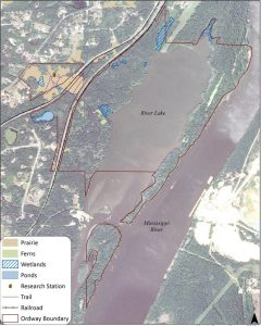 Macalester permanently protects open space along the Mississippi River