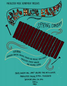 Macalester African Music Ensemble Spring Concert