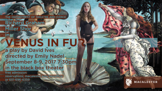 Poster for Venus in Fur