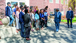 image Kofi Annan with students