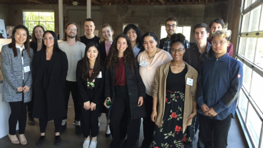 Students from the Los Angeles MacConnect trip last spring