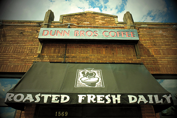 Photo of the front of Dunn Bros. Coffee