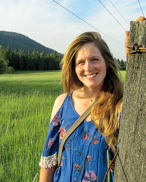 For Leigh Bercaw '12, a quarter-acre farm in Idaho is a way to make big strides in labor and sustainability.
