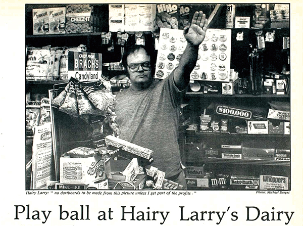 Photo of Larry, owner of Larry's Dairy